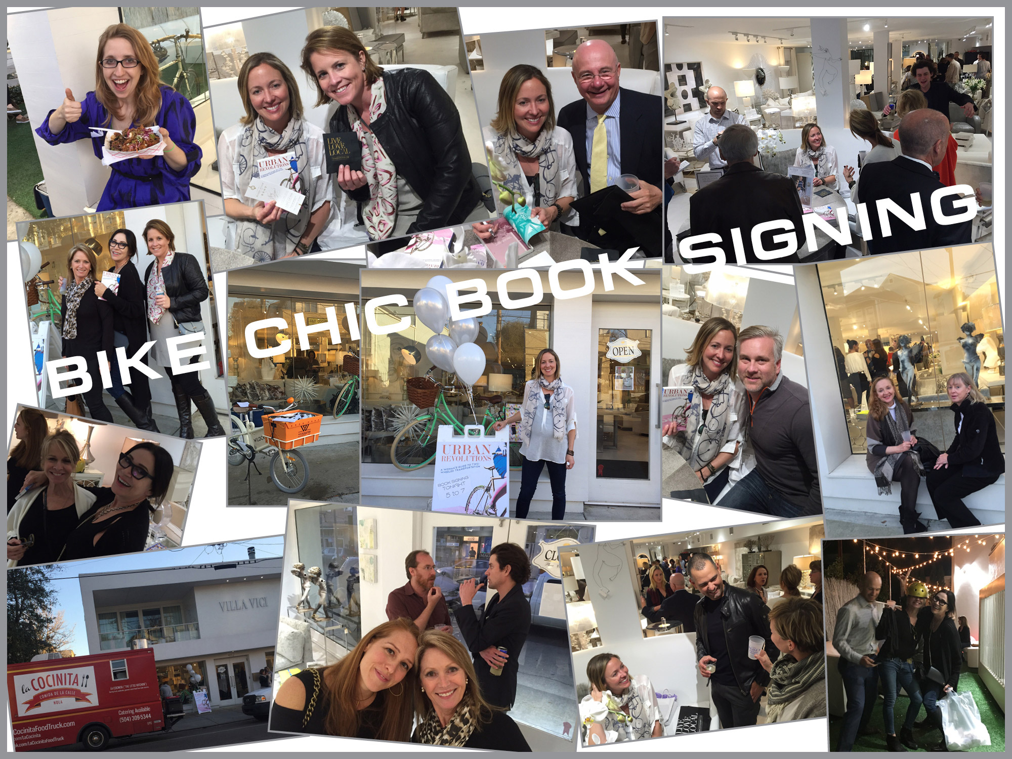 Bike Chic Book Signing Party Pics