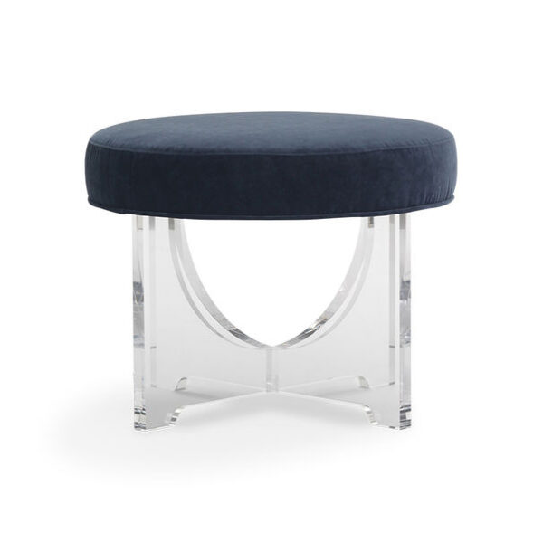 Claudia_Pull-Up_Stool_head-on_Boulevard_Indigo_Mitchell_Gold_Bob_Williams