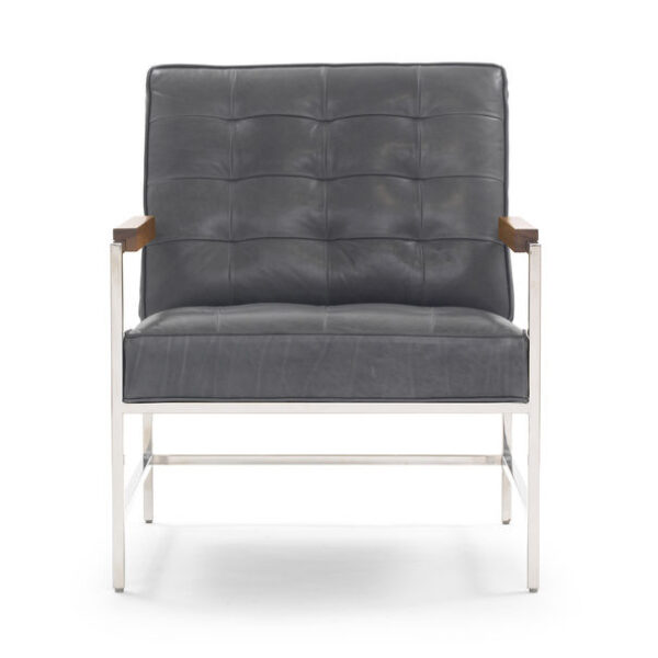 Major_ArmChair_Leather_Highland-Denim_Front_Mitchell_Gold