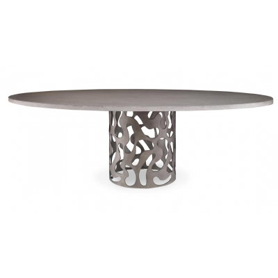 San_marino_single_oval_top_Outdoor_Dining_Table_Mr.Brown