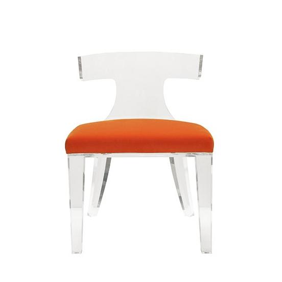 duke_Acrylic_Chair_Worlds-Away_Orange_Velvet