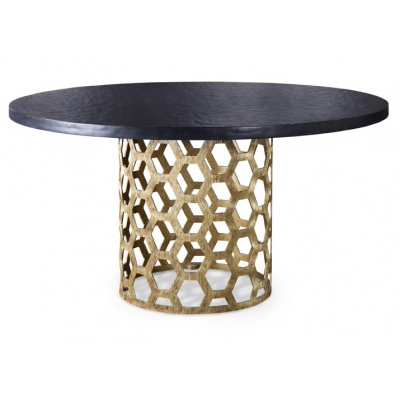 Angeline_aztec_gold_dining_table_Mr.Brown