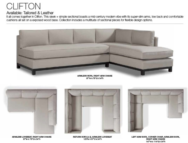 Clifton Sectional Villa Vici