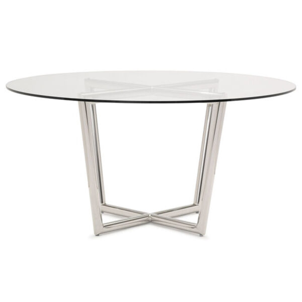 modern-dining-table-stainless-tempered-glass-front-mitchell-gold-bob-williams