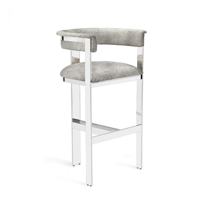 Darcy Hide Bar Counter Stool Villa Vici Furniture