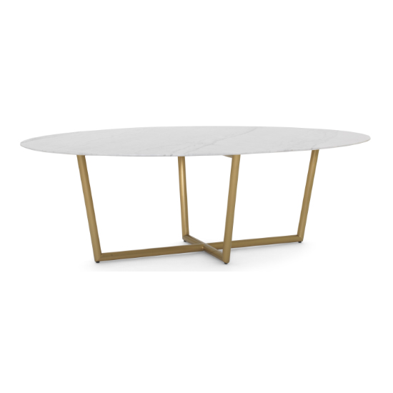 Modern Oval Dining Table Marble Top Villa Vici Furniture Store And Interior Design Resource In New Orleans